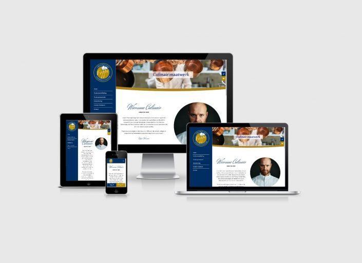 Wiersma Culinair webdesign