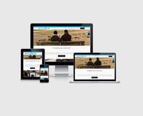 Website laten maken voor Ampere
