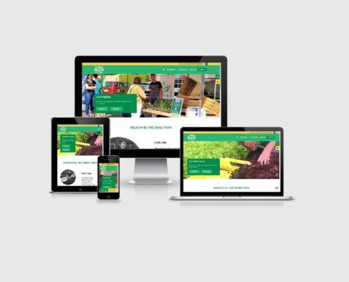 Website laten maken voor Yn'e Sinne Farm