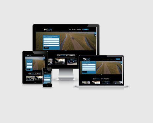 Website laten maken voor Proline