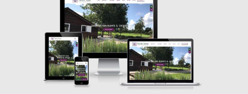 Website laten maken voor Heide State